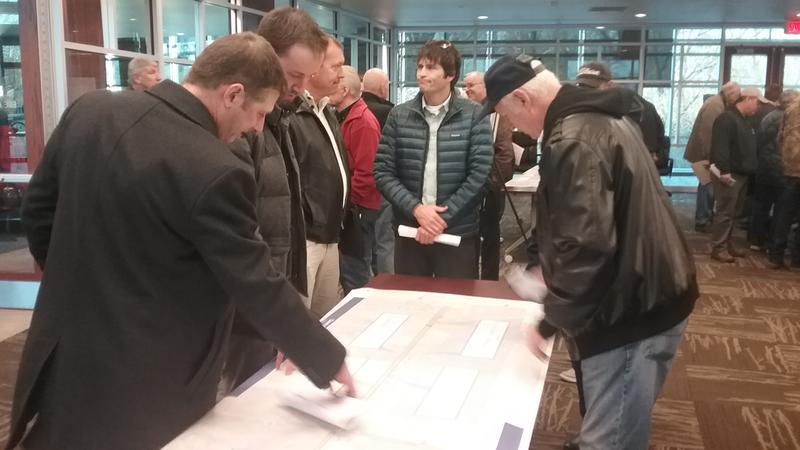 Racine County residents study road construction plans for Foxconn