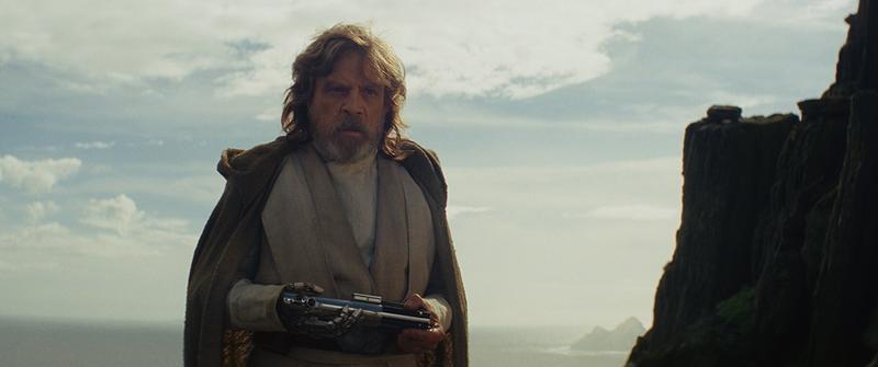 Mark Hamill as Luke Skywalker in Star Wars: Episode VIII - The Last Jedi (2017)