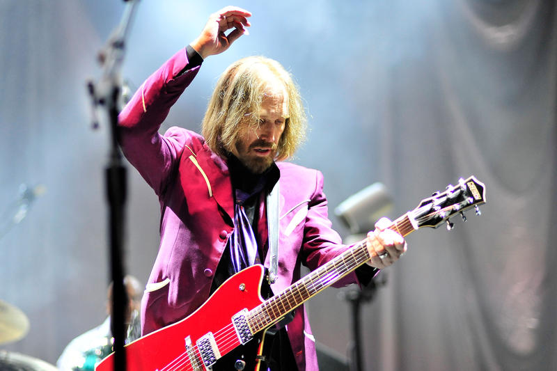 Tom Petty and The Heartbreakers performing in San Diego, California in 2014.