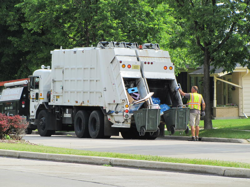 Wisconsin enacted its recycling law in 1990. A 2009 DNR study reported that 40 percent of materials delivered to of materials delivered to landfills are recyclable.