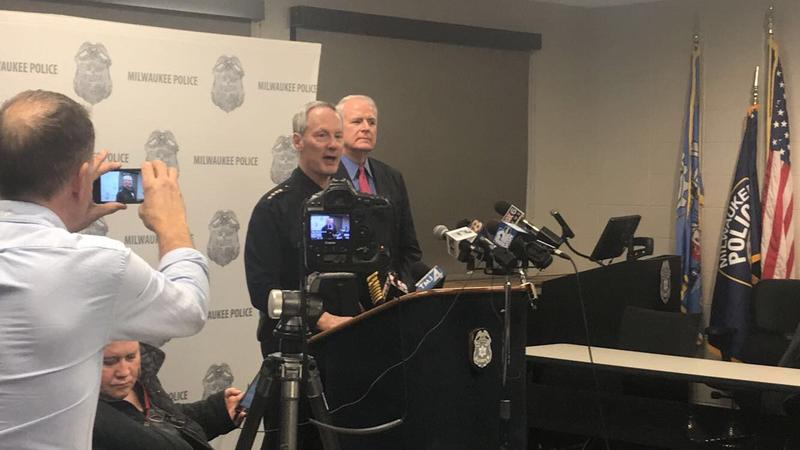 Milwaukee Police Chief Edward Flynn announced his retirement at a press conference January 8, 2018.