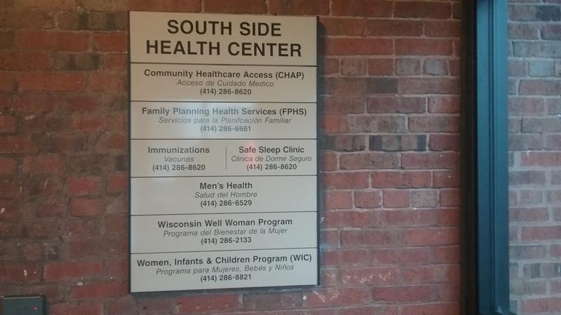 The city of Milwaukee held a lead tsting clinic at the Southside Health Center