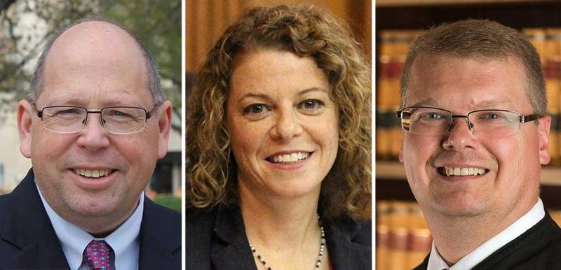 Attorney Tim Burns, Circuit Court Judge Rebecca Dallet and Circuit Court Judge Michael Screnock will face off on Feb 20 in the race to become a Wisconsin Supreme Court Justice