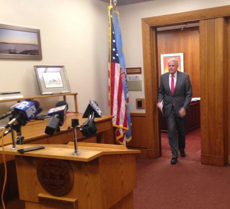 Mayor Tom Barrett shared comments with the media Thursday afternoon.