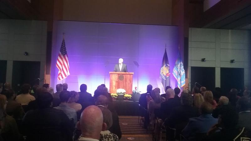 """Mayor Tom Barrett delivers his """"State of the City"""" address"""