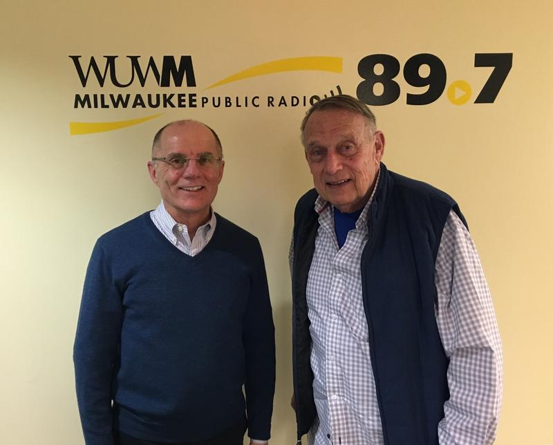 Tom Luljak and former Wisconsin Governor Marty Schreiber