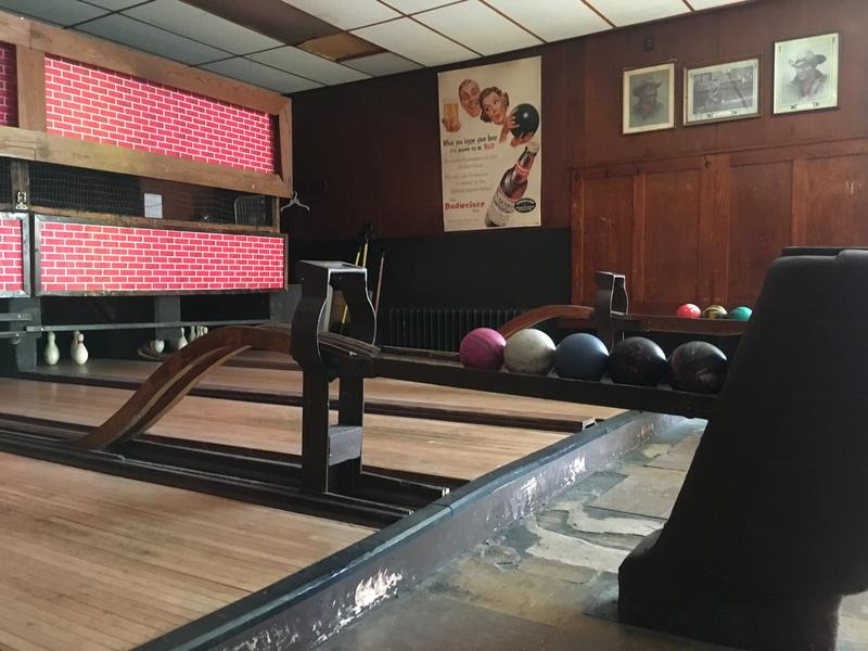 The lanes at Koz's Mini Bowl in Milwaukee.
