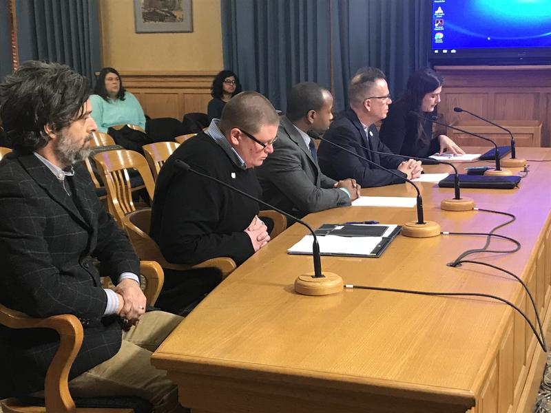 Alderman Cavalier Johnson, joined by representatives from the Milwaukee LGBT Community Center and Mount Mary University, urged the Public Safety and Health Committee to consider banning conversion therapy in Milwaukee.