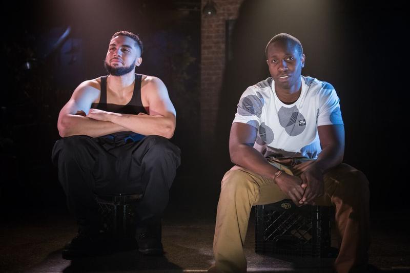 Travis Knight and Andrew Muwonge