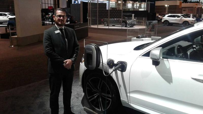 Russell Datz at the Chicago Auto Show in February of 2018.