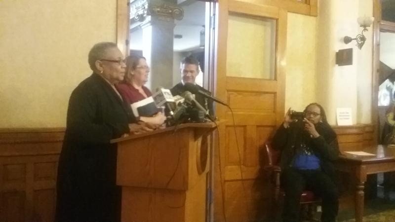 Health Commissioner Patricia McManus discusses solutions to an HIV/Syphilis outbreak