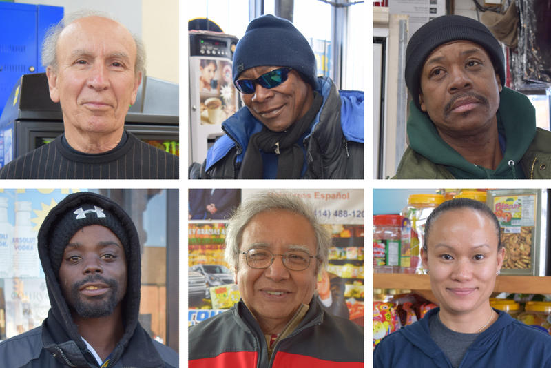 Some of the Milwaukee residents we chatted with on the city's south and north sides.