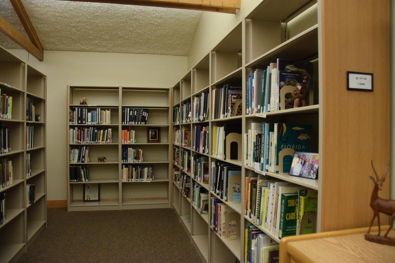 A journey through the spacious stacks of the Milwaukee County Zoo library.