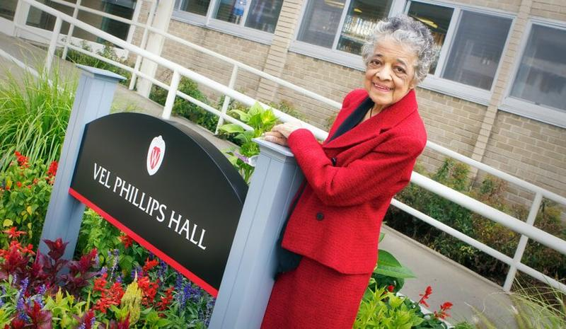 The late Vel Phillips, pioneering attorney and civil rights advocate