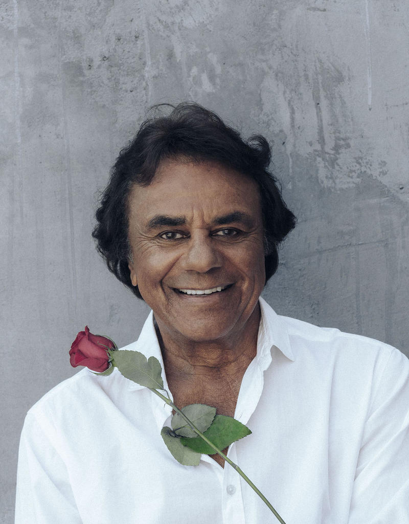 Johnny Mathis in 2017.