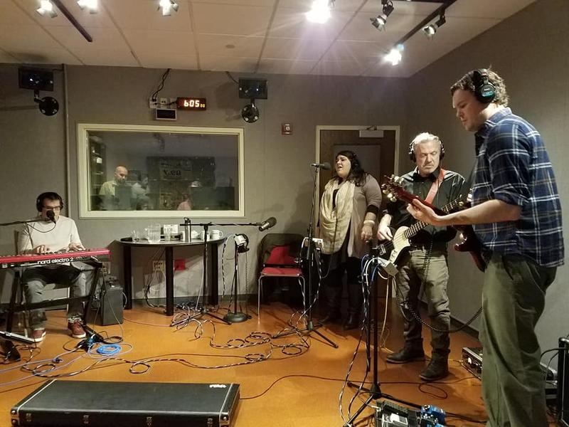 Various Small Fires, playing in Lake Effect's performance studio