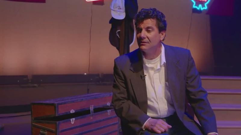 Steve Scionti's one-man show celebrates his grandfather, Angelo Morello, and the Sicilian-American family experience.