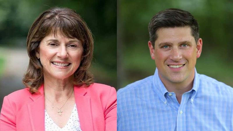 Lean Vukmir and Kevin Nicholson are running against each other in a GOP primary for U.S. Senate in August
