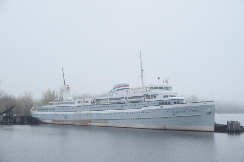 The Milwaukee Clipper has docked for the last time in Muskegon, MI.