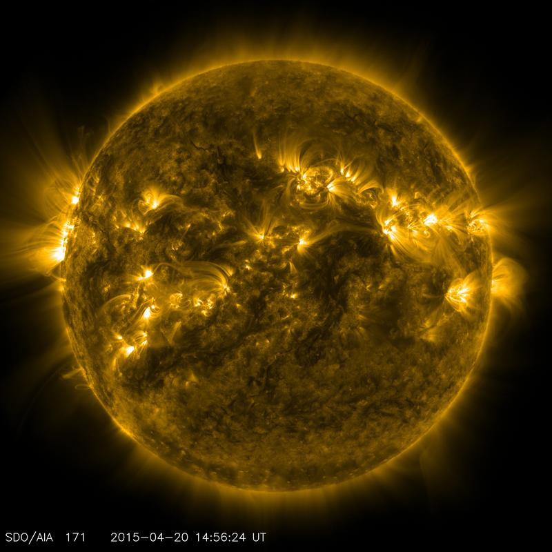 Active regions in the sun