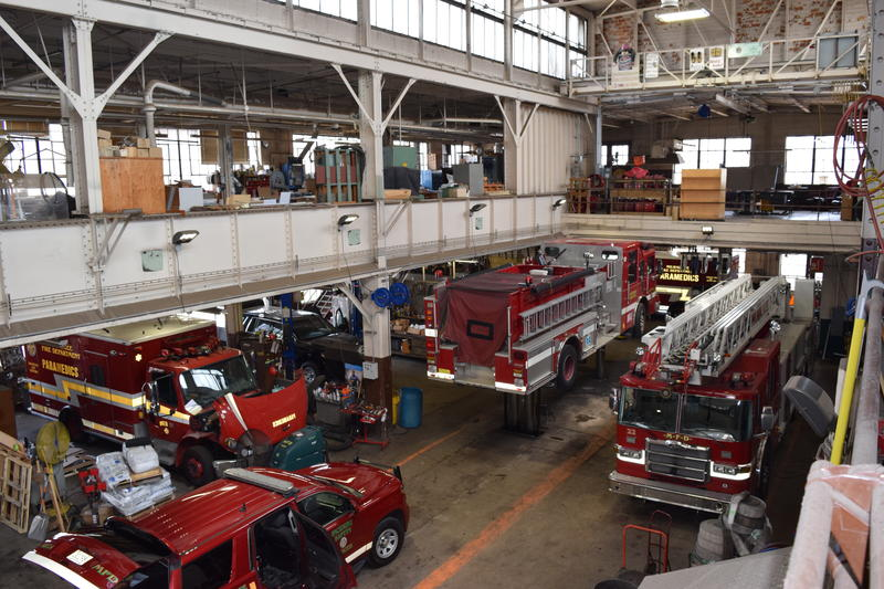 The Milwaukee Fire Department Construction and Maintenance Division is responsible for maintaining all the equipment firefighters use.