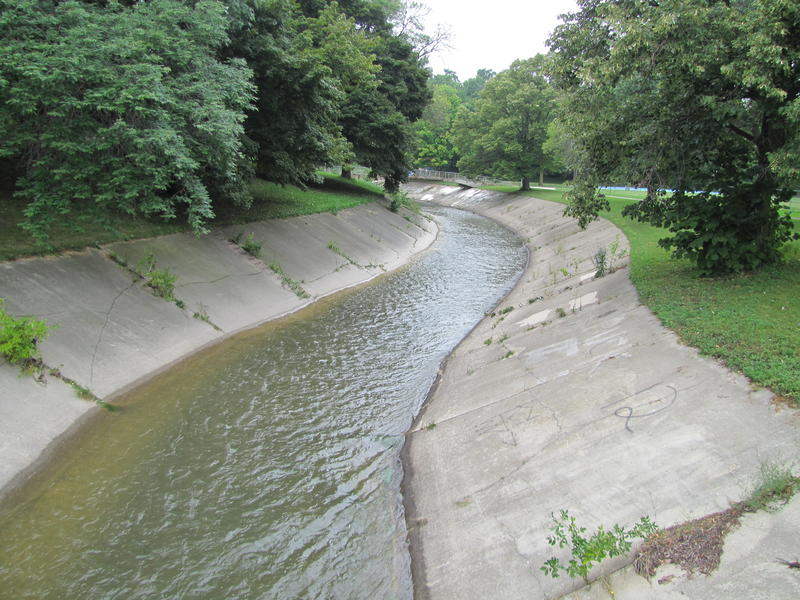 The Kinnickinnic is one of three rivers in Milwaukee's watershed that feeds into Lake Michigan. Soon, a section will be naturalized as part of a larger project.