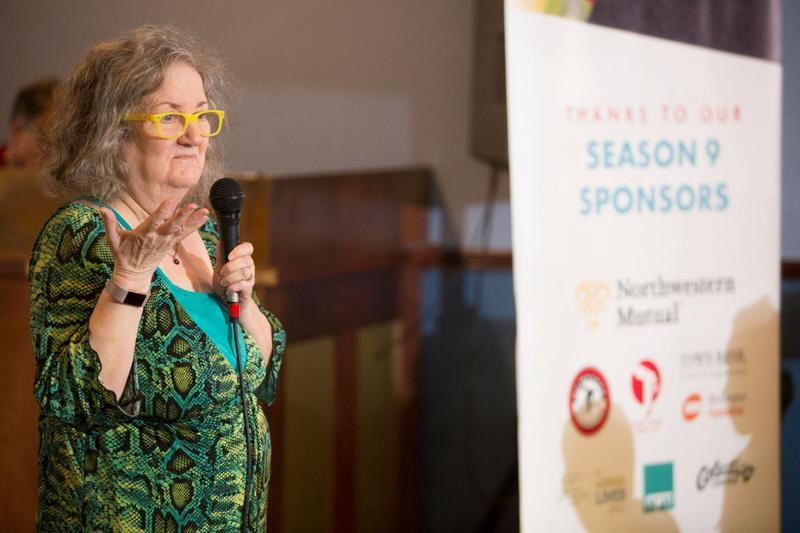 Storyteller Sally Stern