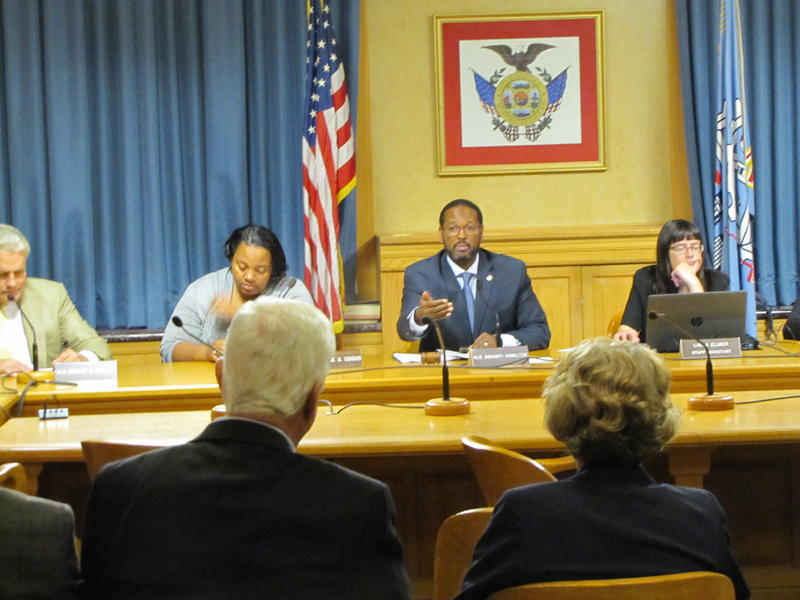 Chairman Ashanti Hamilton said it was important that council members be briefed by the city attorney at Thursday's Steering & Rules Committee meeting.