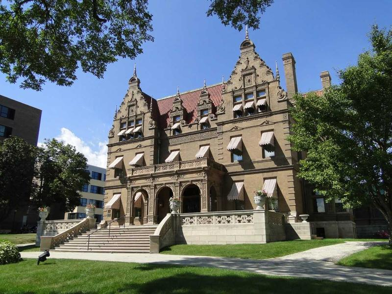 The Pabst Mansion has stood for more than a century on Milwaukee's near-west side.