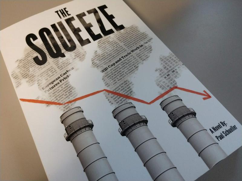 """""""The Squeeze"""" is Paul Schueller's first novel."""