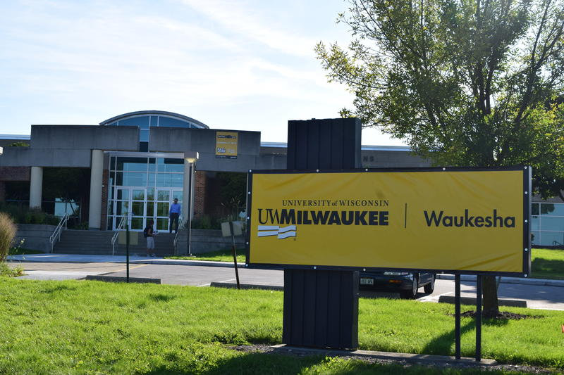 The former UW-Waukesha college is now a branch campus of the University of Wisconsin Milwaukee.