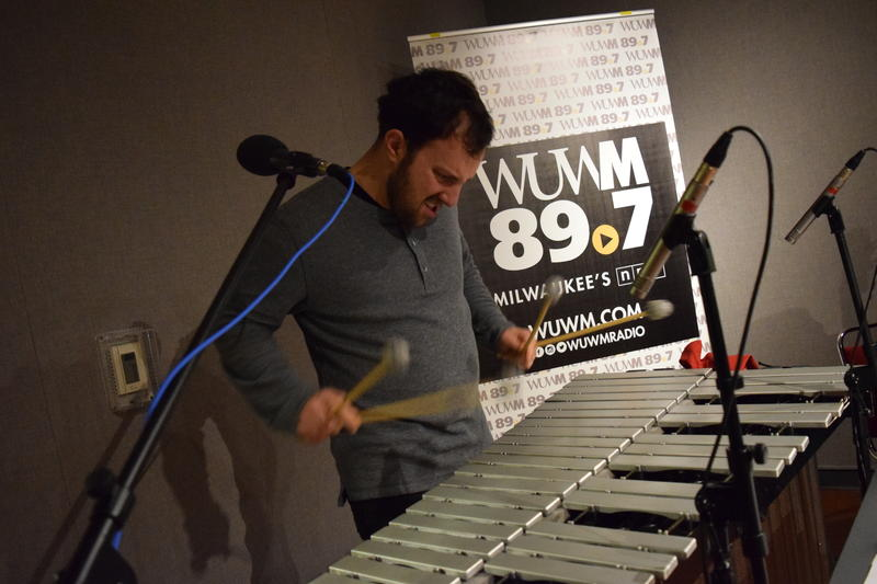 Mitch Shiner performs reimagined Chanukah music in Lake Effect's performance studio.
