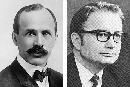 Former state historian Michael Stevens says WIsconsin's most significant governors are Francis McGovern (left) and Pat Lucey (right).