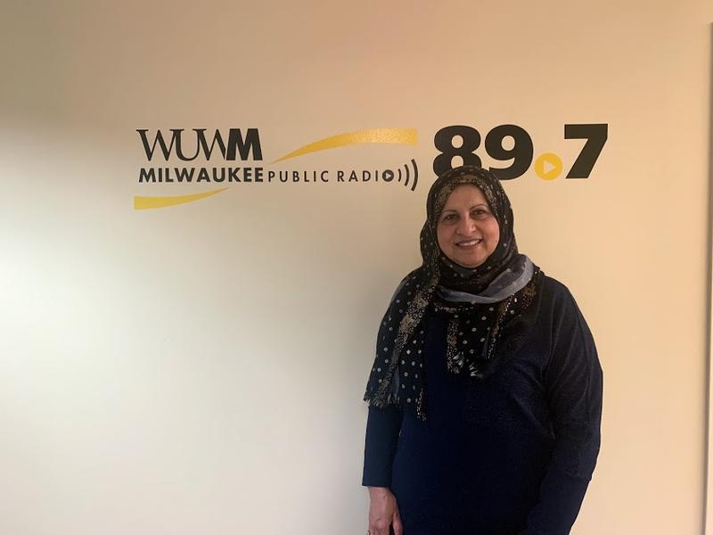 Janan Najeeb of the Milwaukee Muslim Women's Coalition and the Islamic Resource Center.