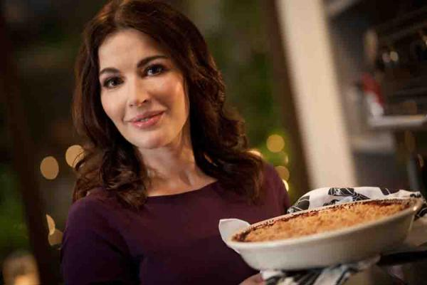 Nigella Lawson's newest book explores the home cook's approach to Italian food.