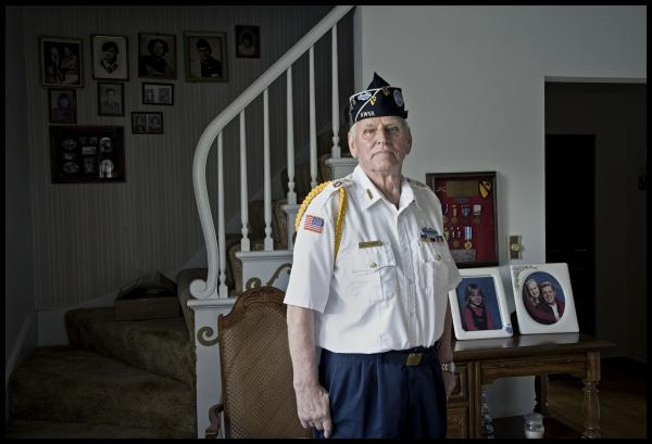 "Korean War veteran Bill Stenberg is featured in ""After the Wars."""