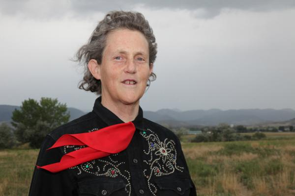 Temple Grandin is an author, celebrated speaker, and doctor of animal science, and lives with autism.