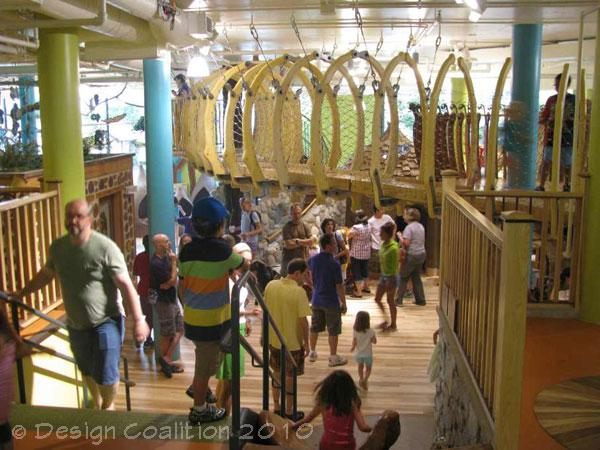 The Wildernest at the Madison Children's Museum offers young kids a hands-on museum experience.