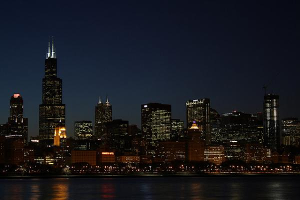 """Chicago, the """"other"""" character in Michael Harvey's novels."""