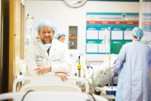 Dr. Robert Love is a heart transplant surgeon and director of cardiac surgery at Froedtert Hospital & The Medical College of Wisconsin.