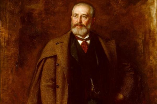 """Portrait of Frederick Layton,"" by Eastman Johnson, 1893"