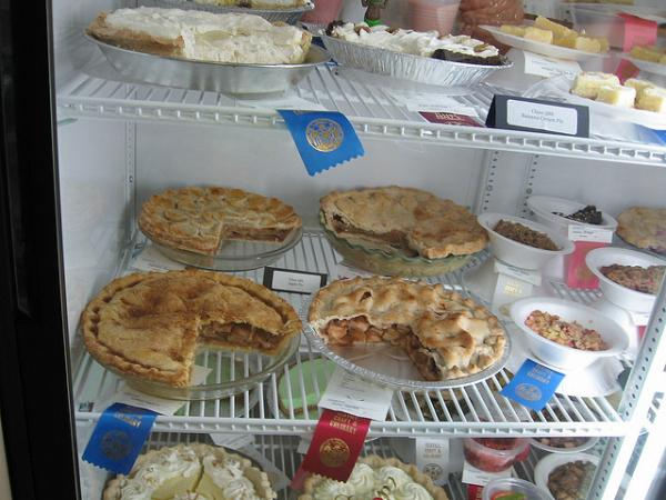 Pies are just one of the many food competition categories at the Milwaukee County Fair.