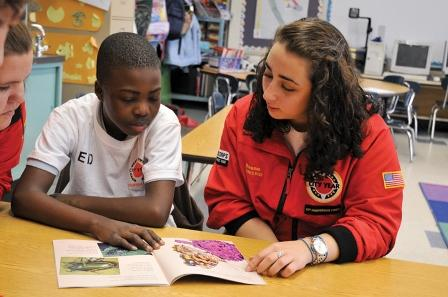 City Year Milwaukee puts young adults in classrooms around the city to help keep students on track.