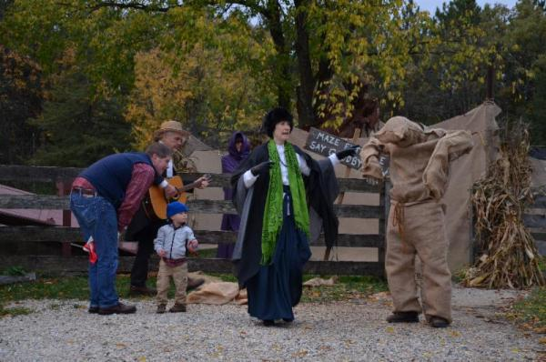 """The """"Halloween Legends and Lore"""" event at Old World Wisconsin features stories from Europe and Wisconsin."""