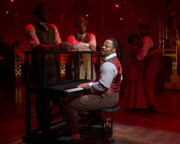 """Gavin Gregory plays the role of Coalhouse Walker in the Milwaukee Rep's production of """"Ragtime."""""""