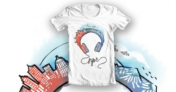 Milwaukee's Jessica Roush won NPR's national T-shirt design challenge.