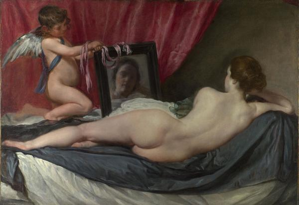 """The Toilet of Venus"" - aka the Rokeby Venus - by Diego Velazquez is the subject of an enduring art history mystery at the heart of a novel by author Barbara Mujica."