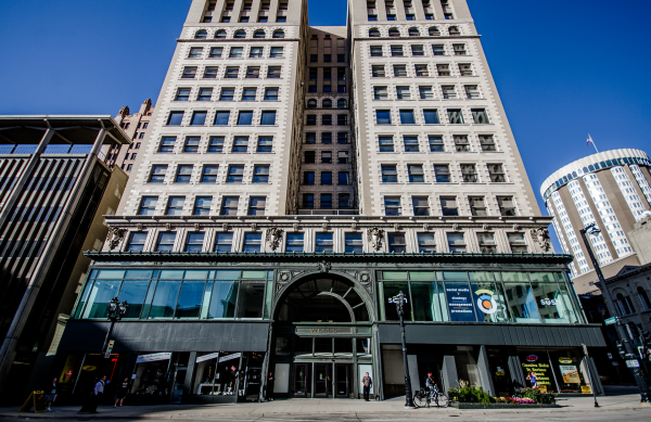 New owners of the Wells Building are banking on energy efficient updates and extensive renovations to help draw tenants to the historic space.