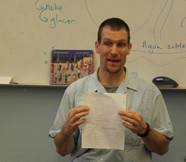 Daniel Timothy Graves describes a classroom assignment to his second graders