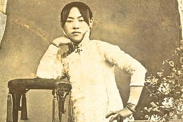 This picture of Amy Tan's grandmother inspired the author to explore the world of courtesans in the early 20th century, one she's not sure her grandmother was a part of.